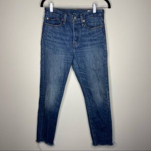 Levi's Wedgie Straight Jeans Size 27